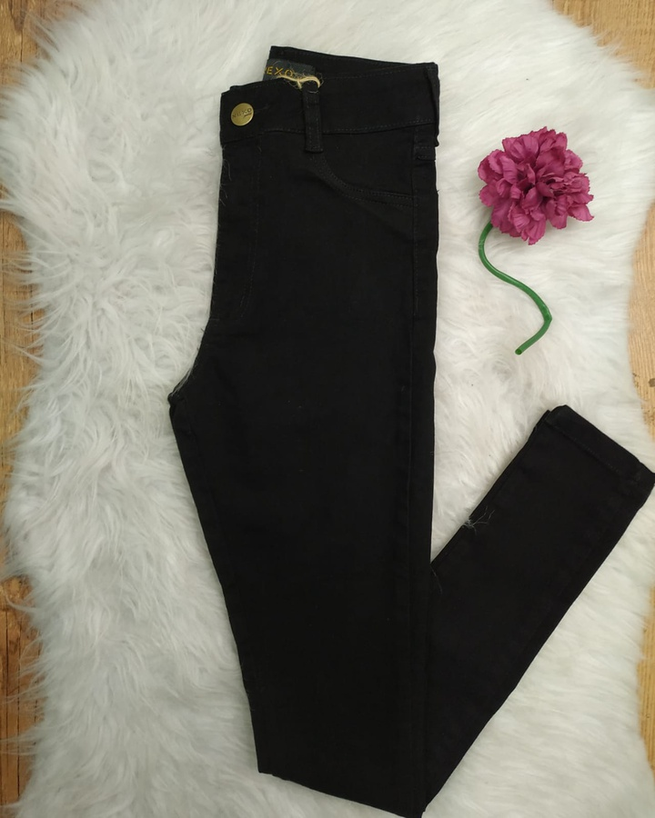 Calça Jeans Nexo Skinny Preta