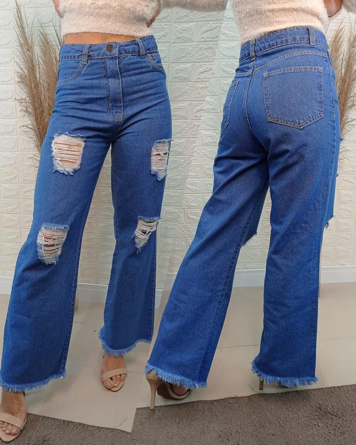 Calça Jeans Wi... - lojas mayara lira shop