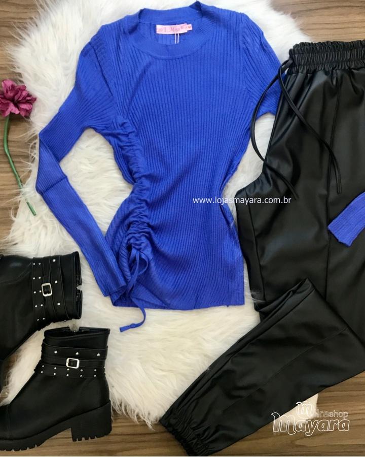 Blusa Tricô Ca... - lojas mayara lira shop