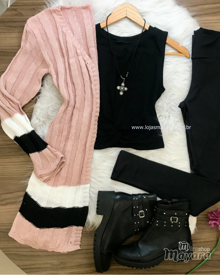 Kimono Tricô C... - lojas mayara lira shop