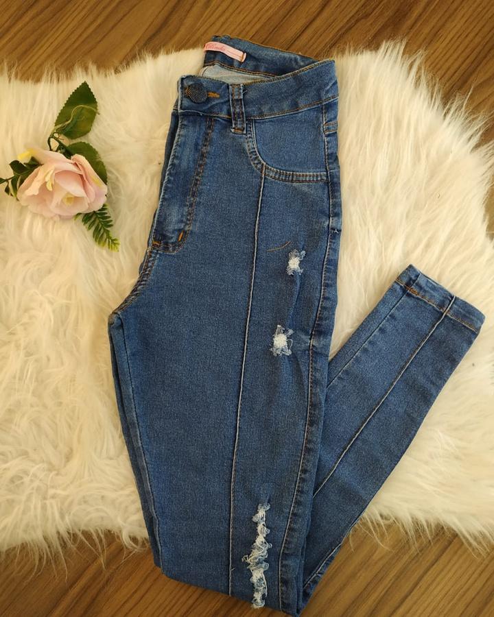 Calça Jeans Me... - lojas mayara lira shop