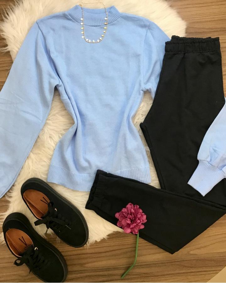 Blusa Basica T... - lojas mayara lira shop