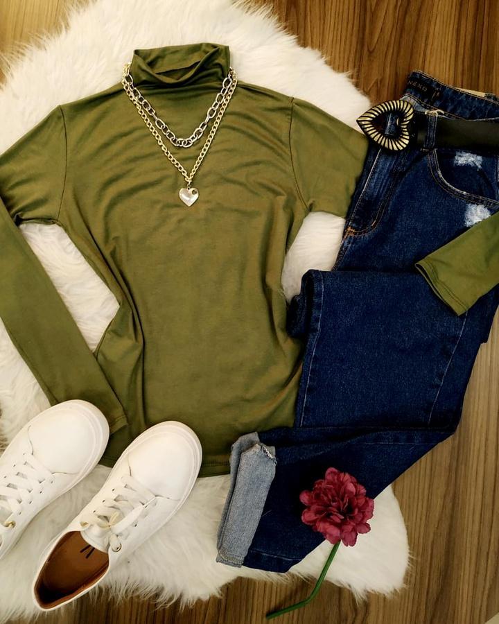 Blusa Básica G... - lojas mayara lira shop