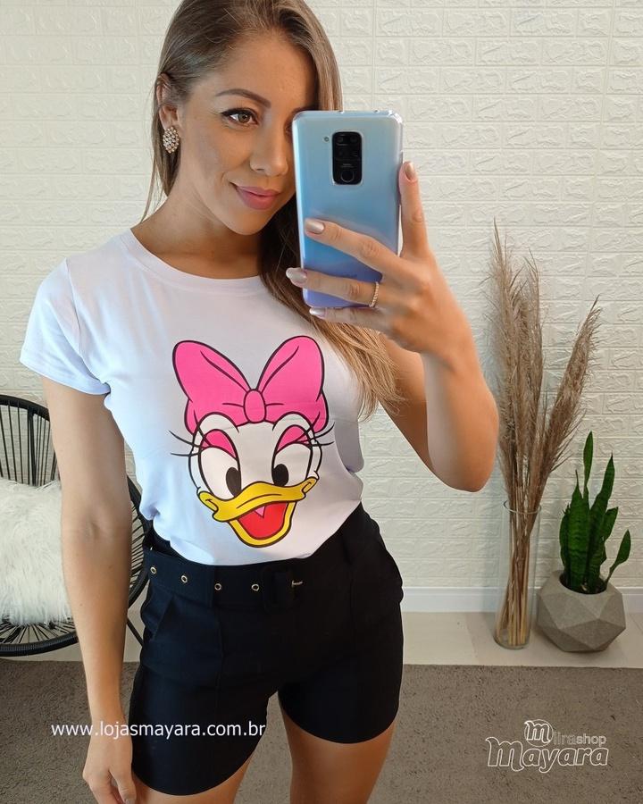 T-shirt Margarida Branca