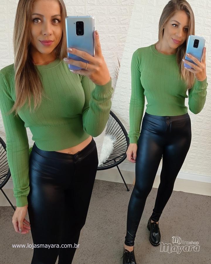 Blusa Tricot Lisa - Verde