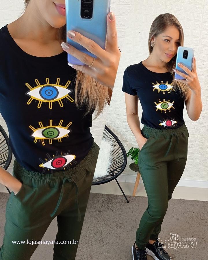 T-shirt Trio O... - lojas mayara lira shop