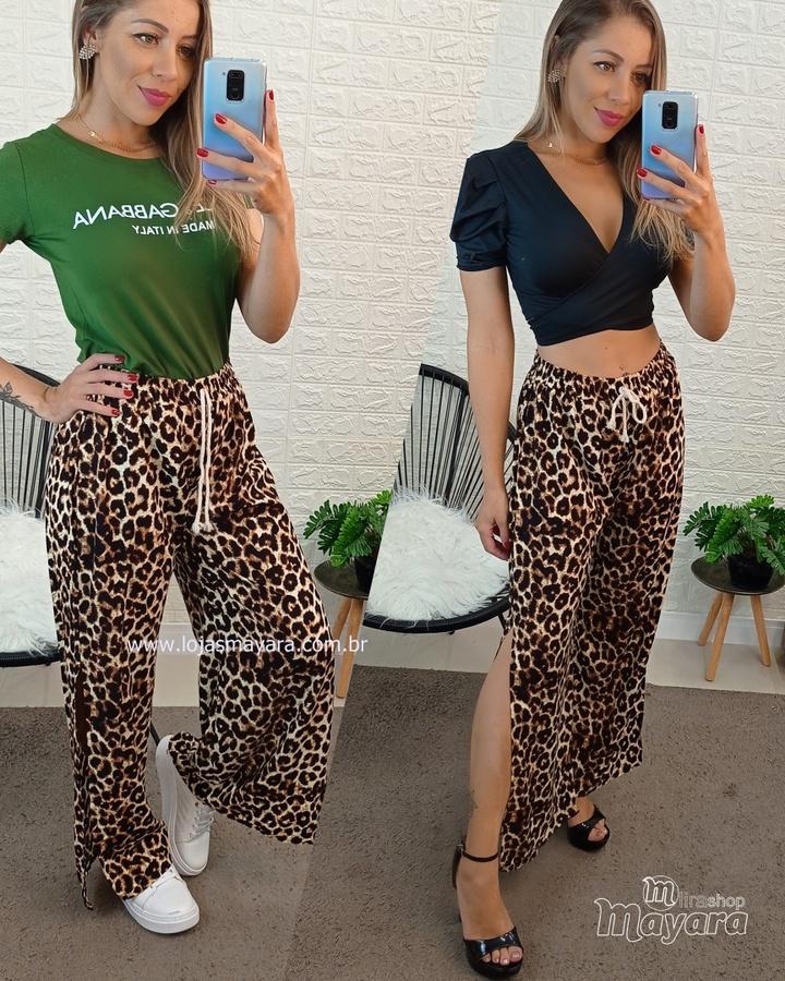 Calça Pantalon... - lojas mayara lira shop
