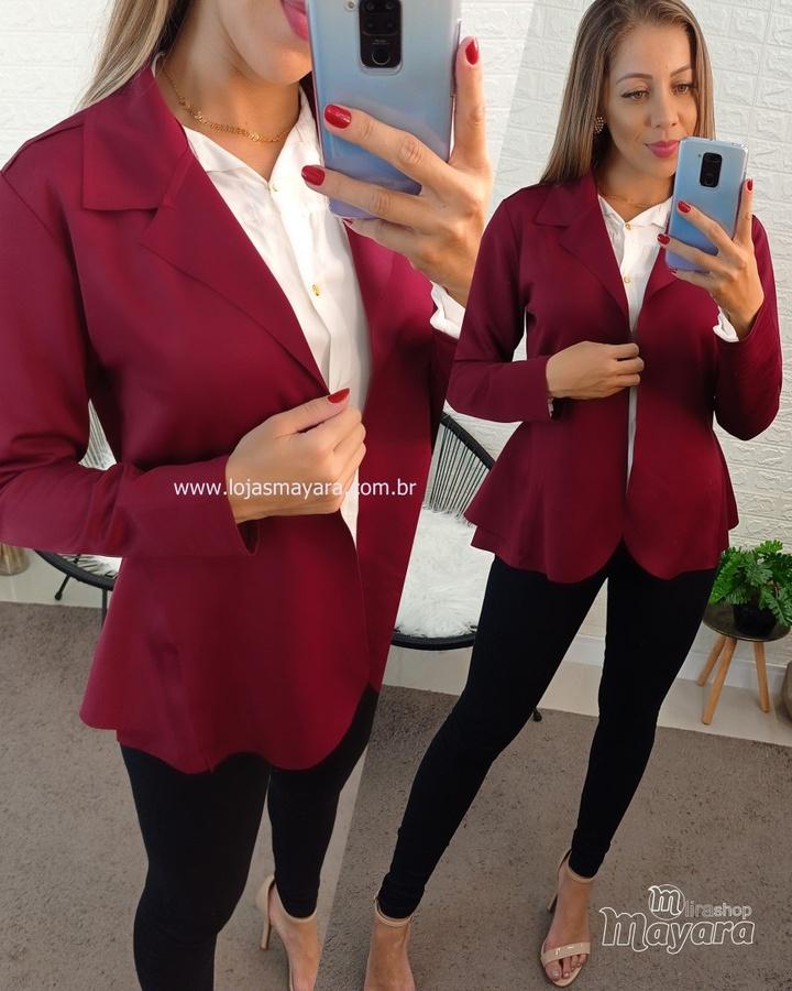 Blazer Curto A... - lojas mayara lira shop