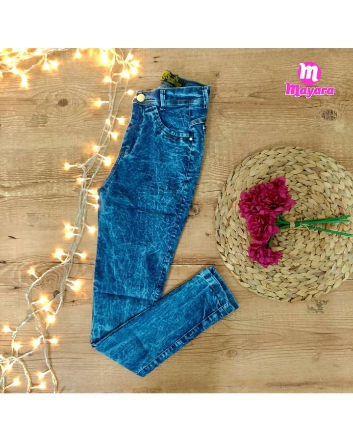 Calça Jeans Ozup Mesclada