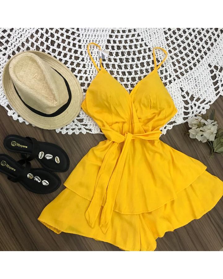 Macaquinho De Amarra Amarelo