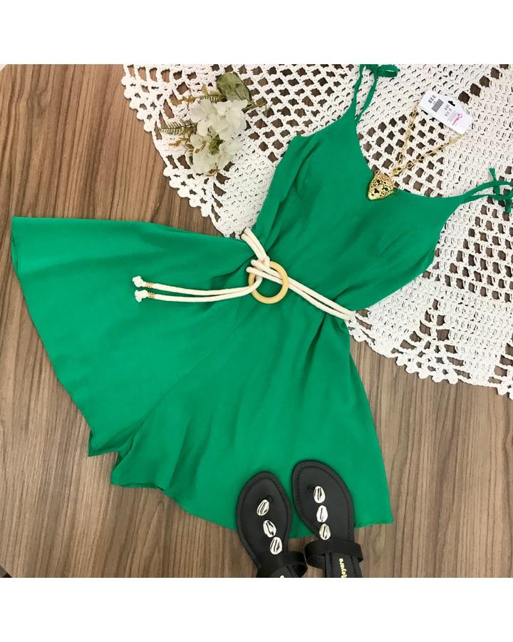 Macaquinho Alcinha Verde