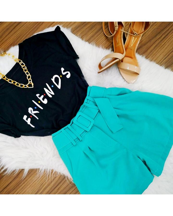 Shorts Alfaiat... - lojas mayara lira shop