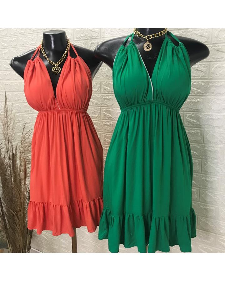 Vestido Frente... - lojas mayara lira shop