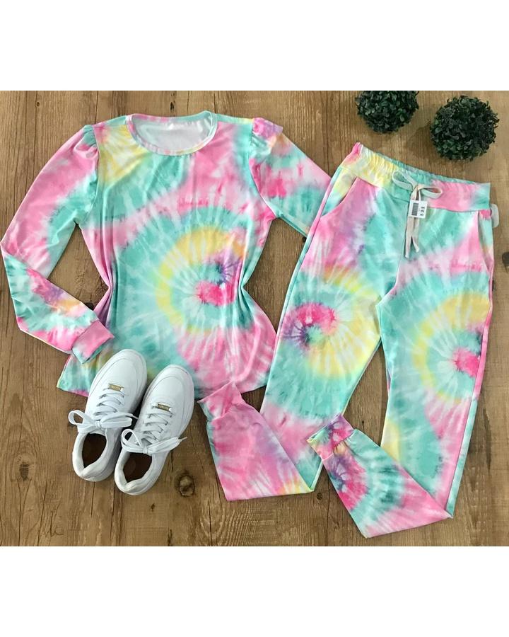 Conjunto Tie D... - lojas mayara lira shop