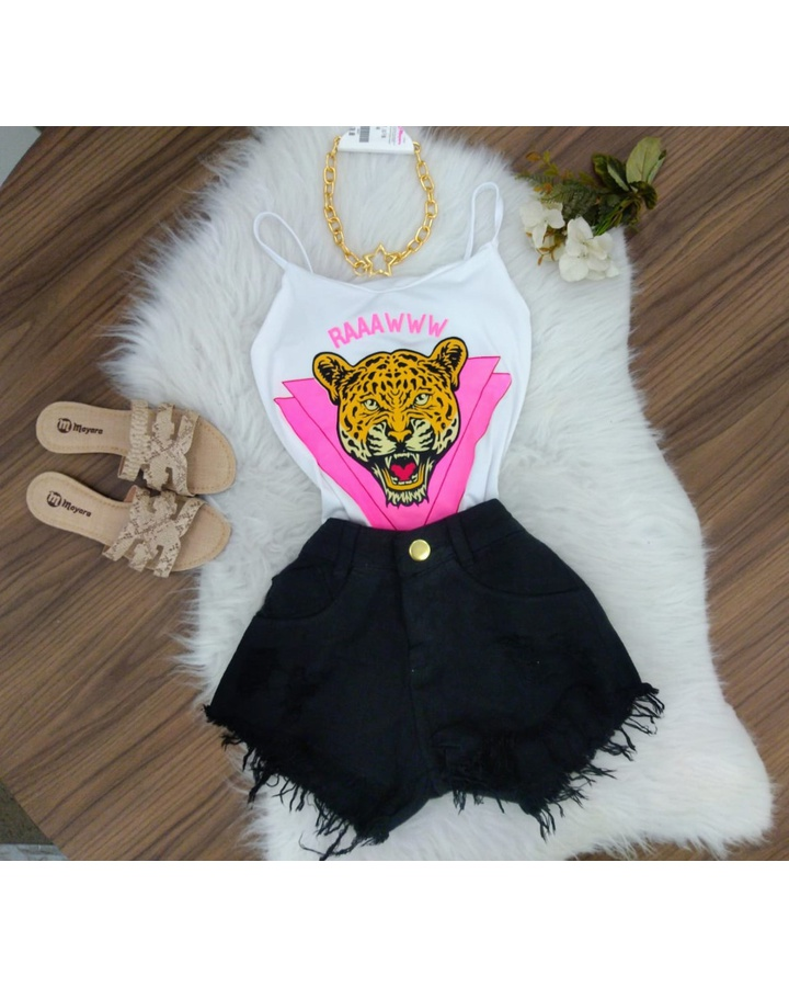 Body Tigre Branco