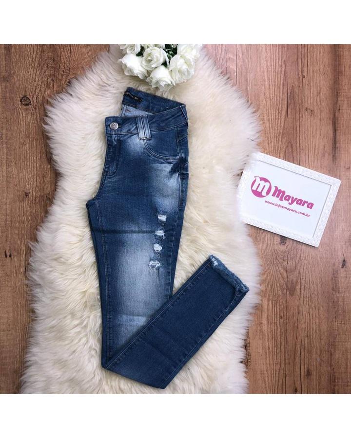 Calça Jeans Cós Médio Up