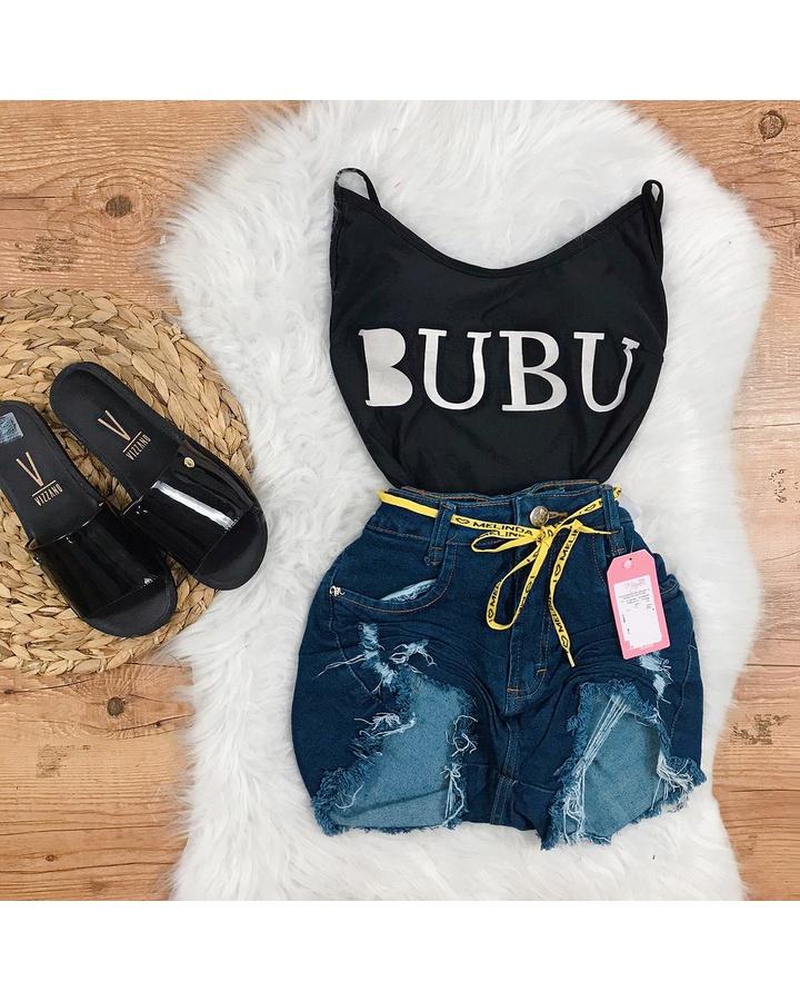 Body Preto Bubu