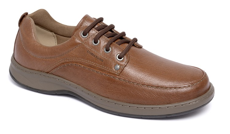 Sapato Comfort Classic Lace Conhaque