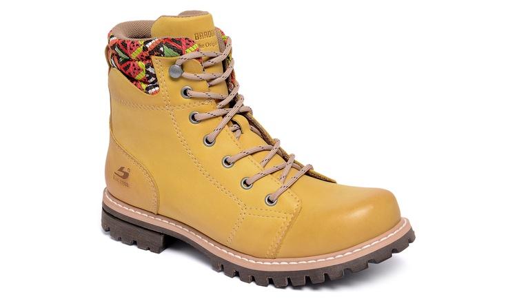 Bota Belle W Amarelo
