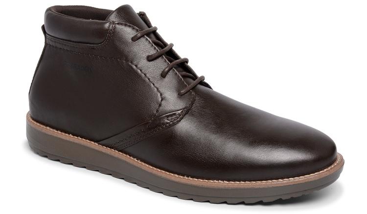 Sapato Comfort Captur Café