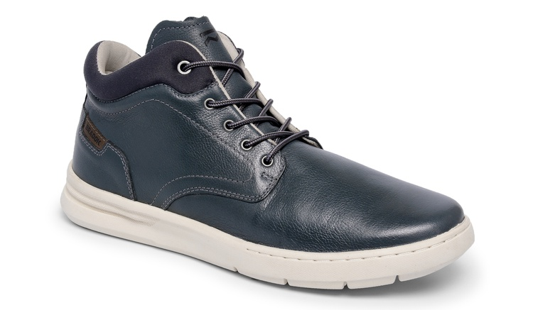Sapato Comfort Catflex Azul