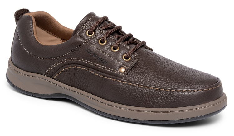 Sapato Comfort Classic Lace Chocolate