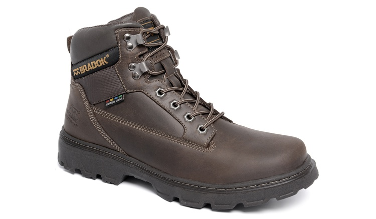 Bota Worker Brown