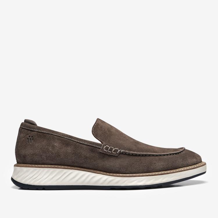 Sapato Masculino Loafer Camurça - Ícaro Due Chumbo