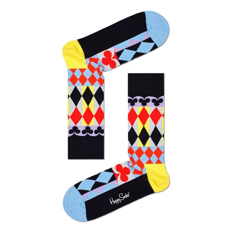 Meia Happy Socks - ABSTRACT CARDS SOCK