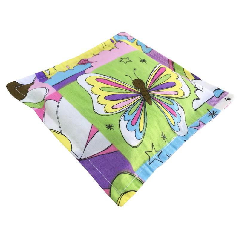 Bolsa Térmica de Sementes e Ervas Aromáticas - Almofadinha - Fadas