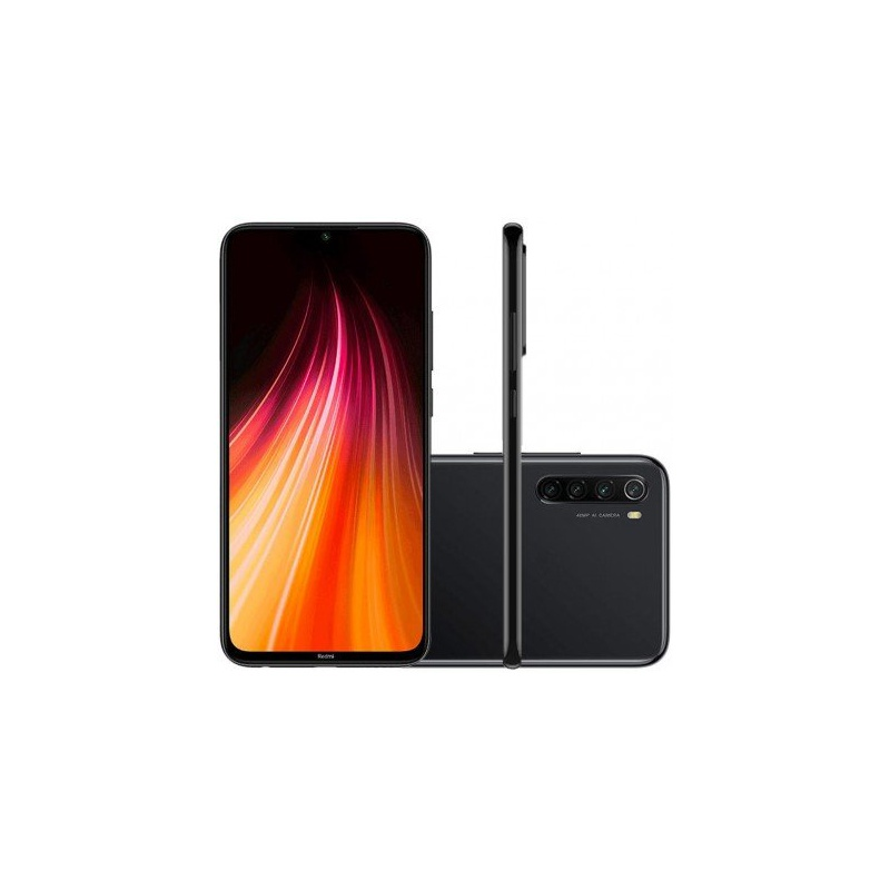 Smartphone Xiaomi Redmi Note 8 64GB 4gb Ram Global Preto Tela 6.3