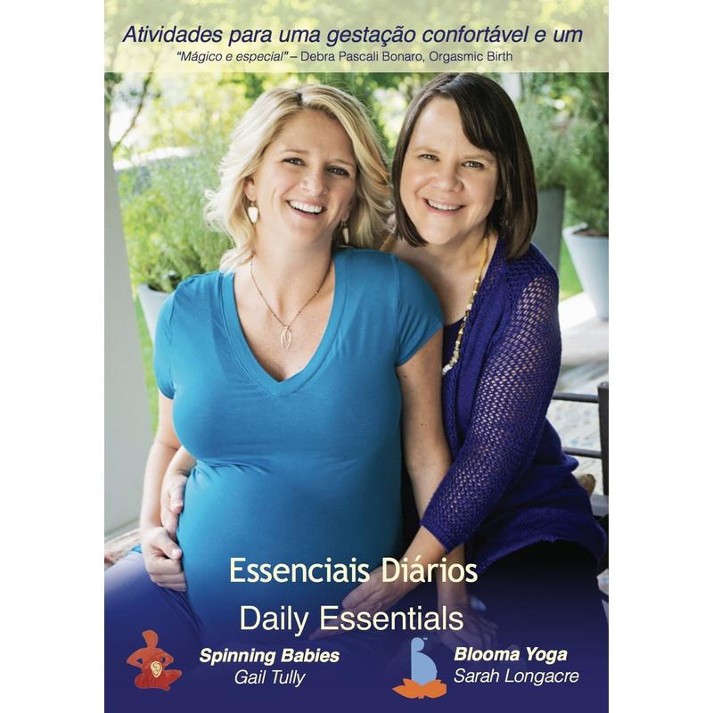 DVD - Atividades para uma gestação confortável e um parto mais fácil - Essenciais Diários