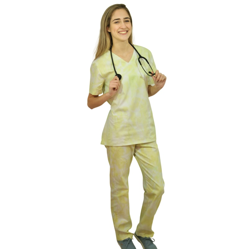 Pijama Cirúrgico - Tie dye Verde
