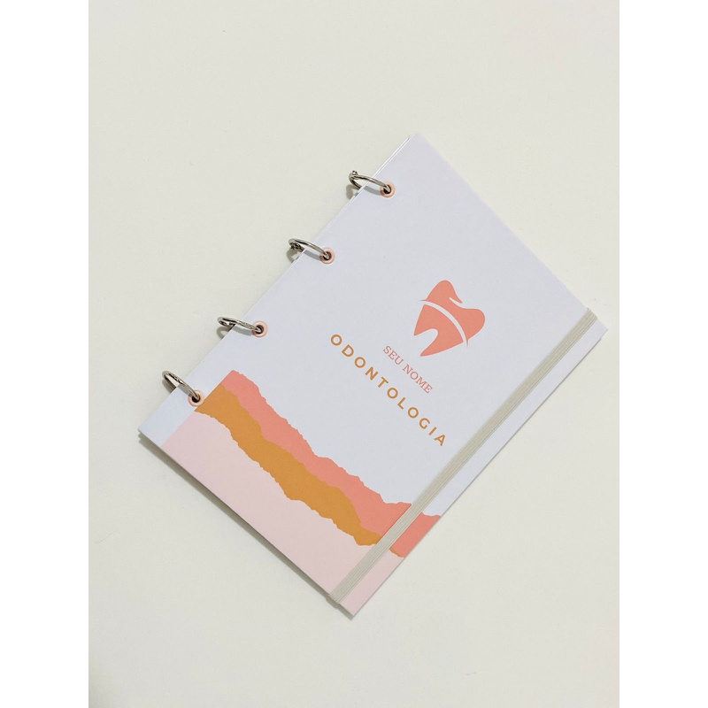 Caderno Capa Dura - Odontologia