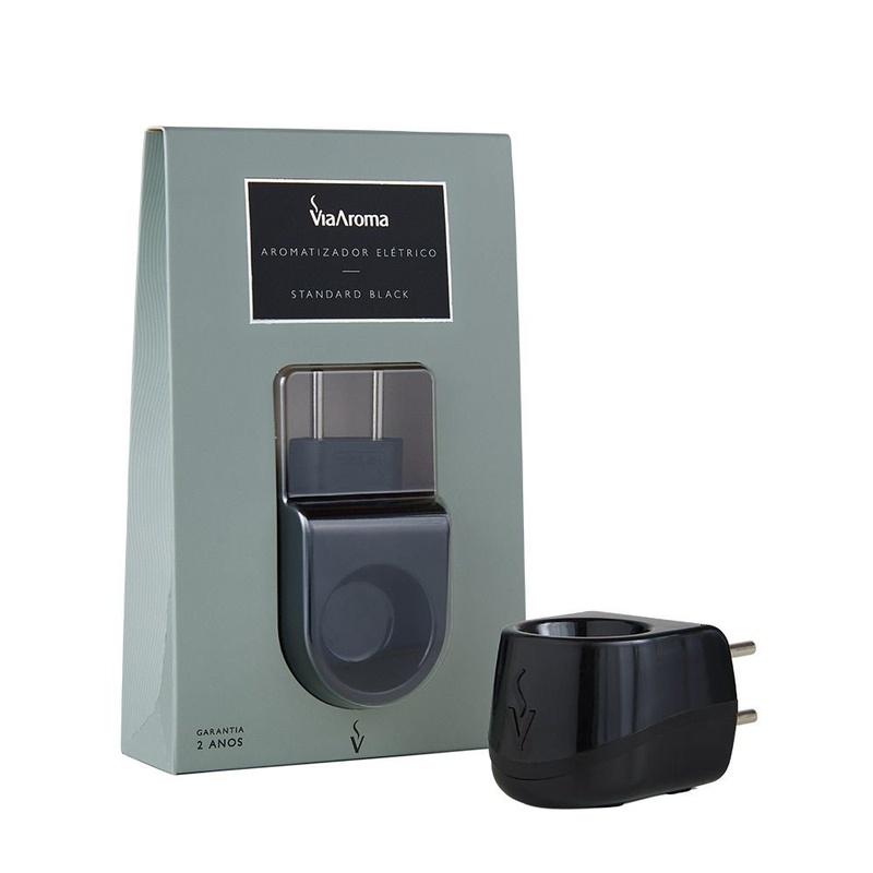 Aromatizador Elétrico Plástico Standard Black