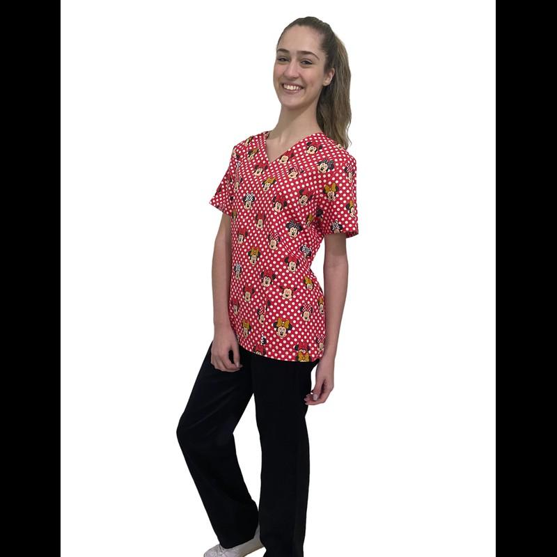 Pijama Cirúrgico Feminino - Minnie 04