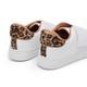 Tenis Velcro Branco com Animal Print