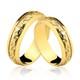 Alianças de Ouro 18k/750 Bodas de Ouro AL52