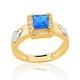 Anel de Formatura em Ouro 18k/750 com Zirconia ANFO100