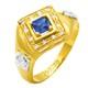 Anel de Formatura em Ouro 18k/750 com Zirconia ANFO57