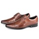 Sapato Comfort Dress em Couro Bronze Savelli