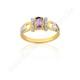 Anel de Formatura em Ouro 18k/750 com Diamante ANF43