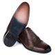 Sapato Masculino Oxford Em Couro Látego Café Savelli