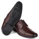 Sapato Comfort Dress em Couro Café Savelli