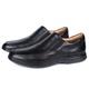 Sapato Massage de Calçar em Couro Látego Preto Savelli