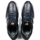 Sapato Casual Jogging em Couro Elba Blue Savelli