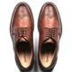 Sapato Masculino New Castle Em Couro Floater Bronze Savelli
