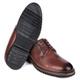 Sapato Masculino New Castle Em Couro Floater Pinhão Savelli