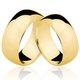 Alianças de Ouro 18k/750 AL74