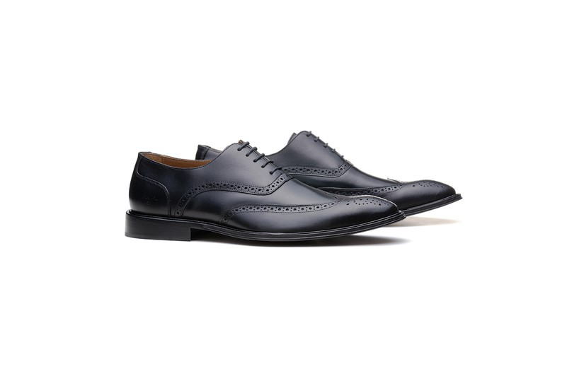Social Oxford Brogue 18AP03 Preto